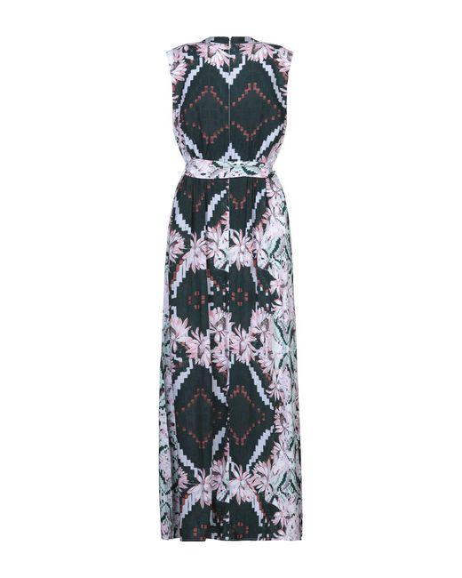 Melissa Odabash Green Langes Kleid