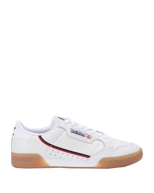 Adidas Originals White Low-tops & Sneakers for men