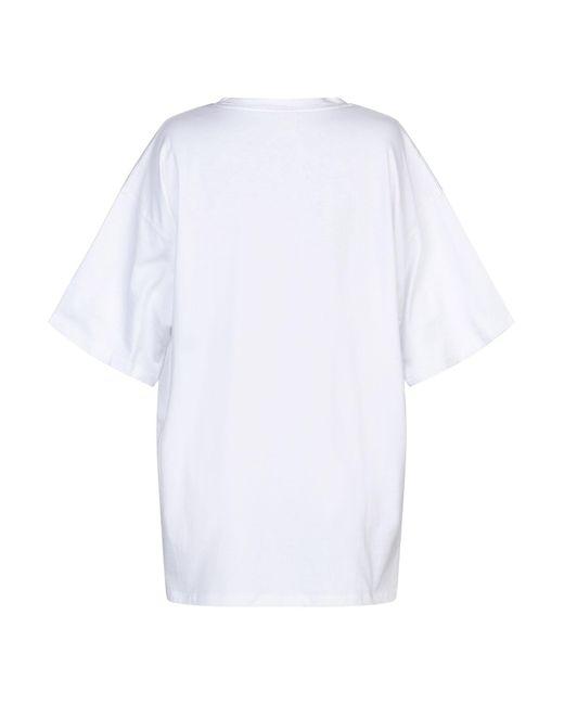 Pinko T-shirt da donna di colore bianco