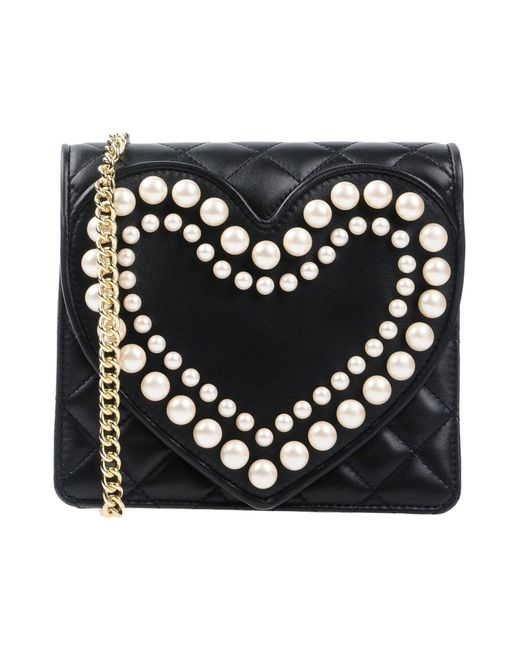Boutique Moschino - Black Cross-body Bag - Lyst
