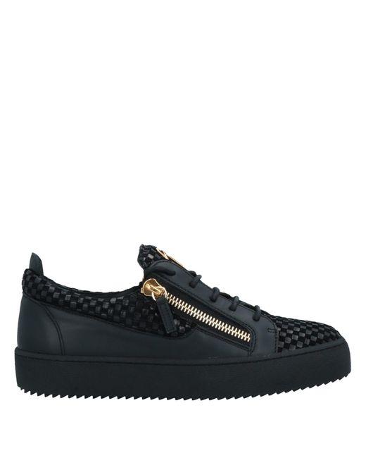 Giuseppe Zanotti Low Sneakers & Tennisschuhe in Black für Herren