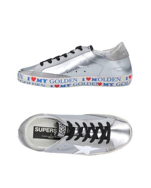 Golden Goose Deluxe Brand Metallic Low-tops & Sneakers