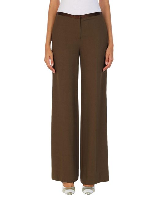 The Row Brown Casual Pants