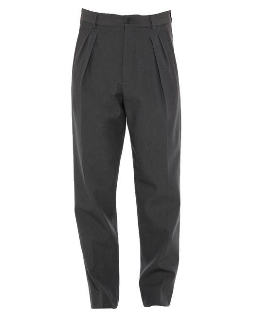 Pantalones Rochas de hombre de color Gray
