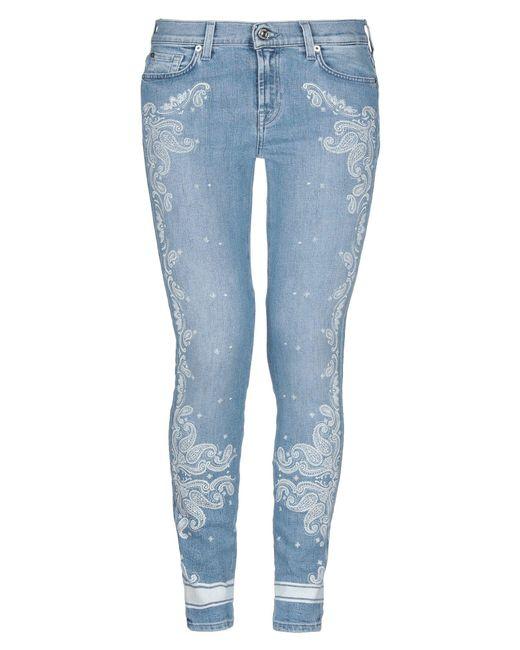 Pantalon en jean 7 For All Mankind en coloris Blue