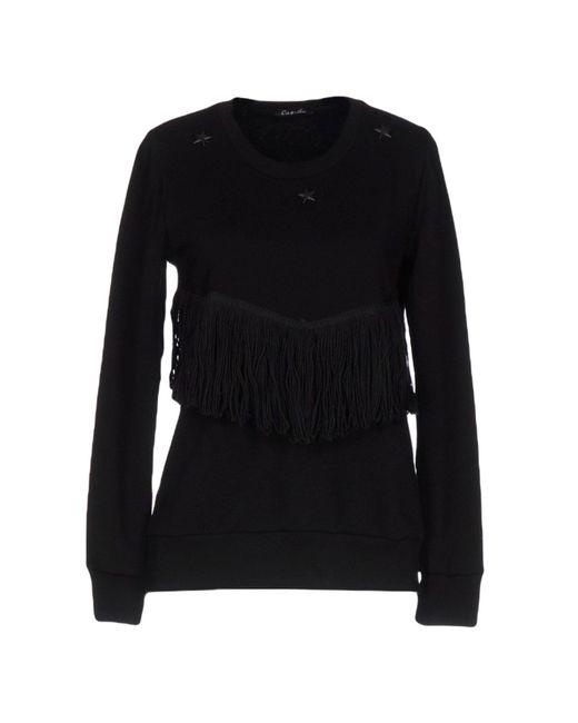 Odi Et Amo - Black Sweatshirt - Lyst