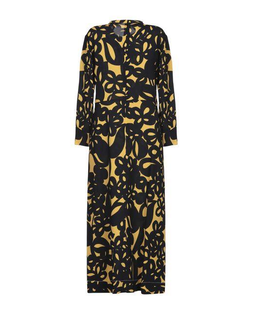 Robe mi-longue Marni en coloris Black