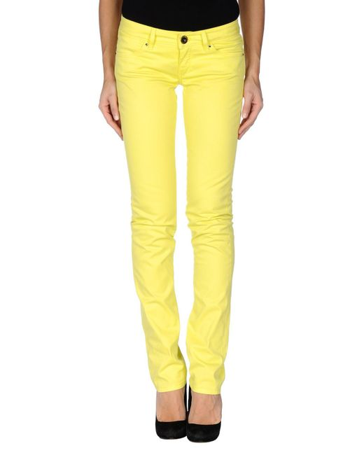 Camouflage AR and J. - Yellow Casual Trouser - Lyst