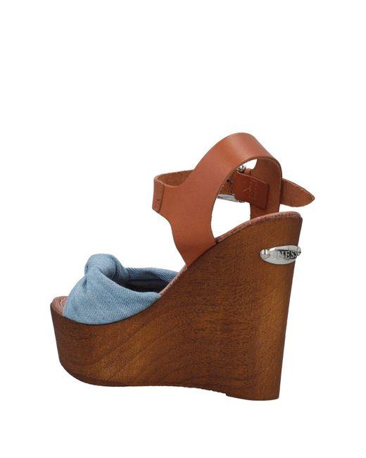 Guess Blue Sandals
