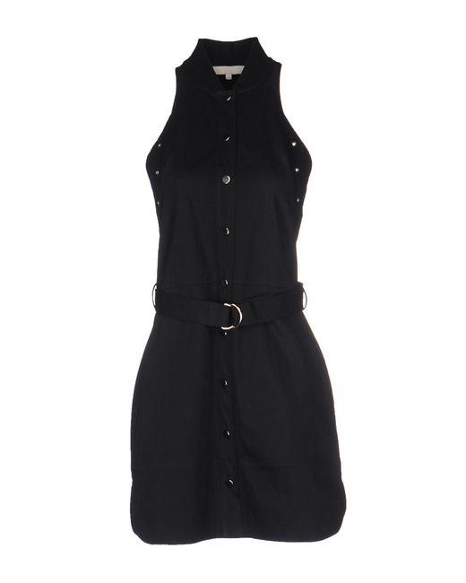 Vanessa Bruno - Blue Short Dress - Lyst