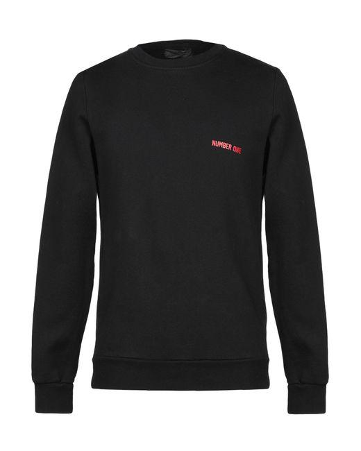 Athletic Vintage Black Sweatshirt for men