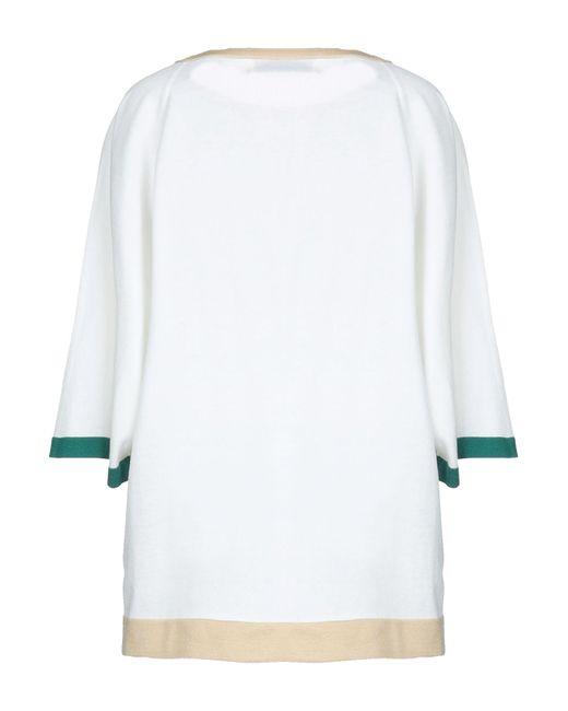 Pullover Lamberto Losani en coloris White