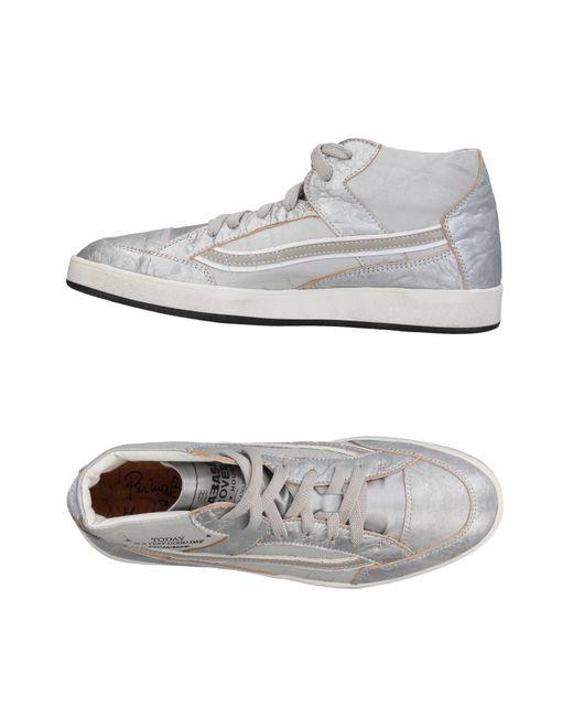 Primabase - Metallic High-tops & Sneakers for Men - Lyst