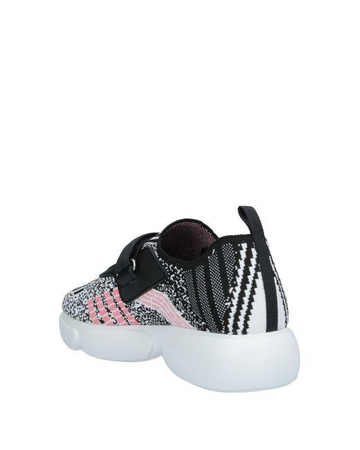 Prada Black Low Sneakers & Tennisschuhe
