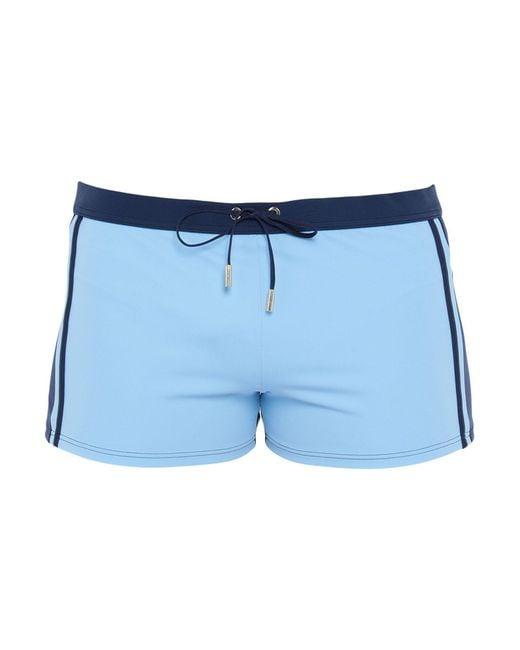La Perla Blue Swim Trunks for men