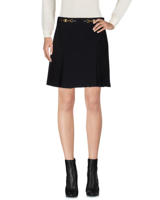 Tory Burch - Black Mini Skirt - Lyst