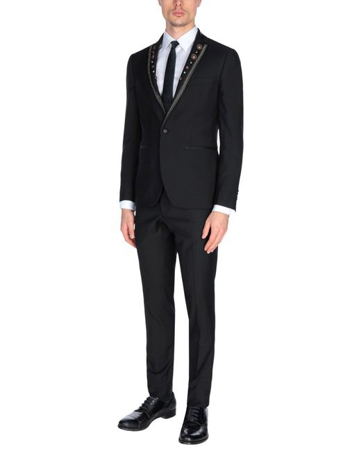 Frankie Morello - Black Suit for Men - Lyst