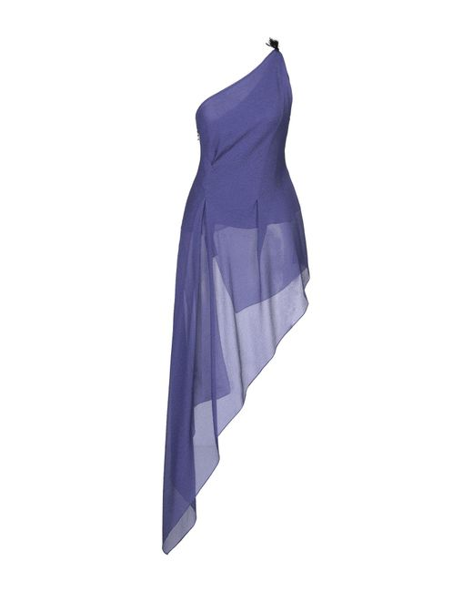 Roland Mouret Top de mujer de color azul qgLPz