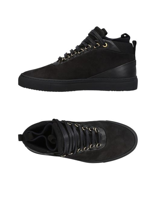 Android Homme - Black High-tops & Sneakers for Men - Lyst