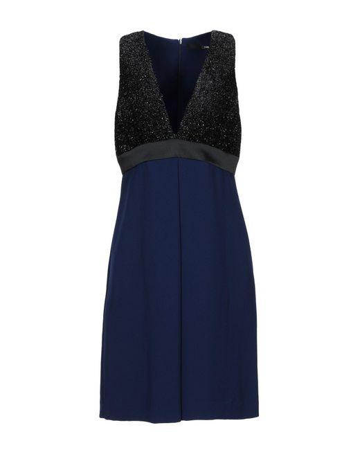 Annarita N. Blue Short Dress