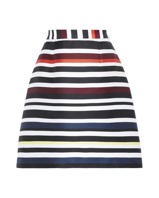 Novis Black Knee Length Skirt