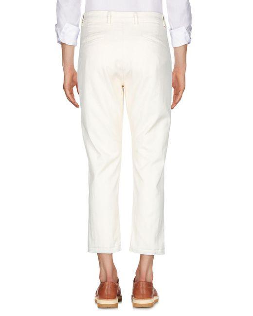 Pence Hose in White für Herren
