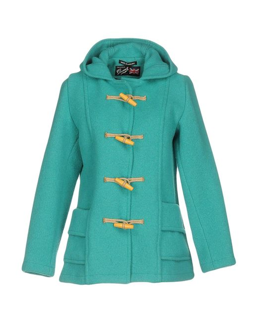 Gloverall - Blue Coat - Lyst