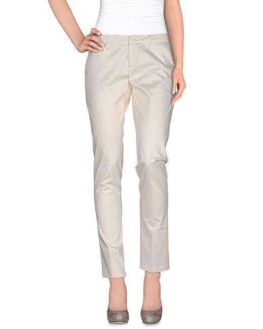 Amy Gee White Casual Pants