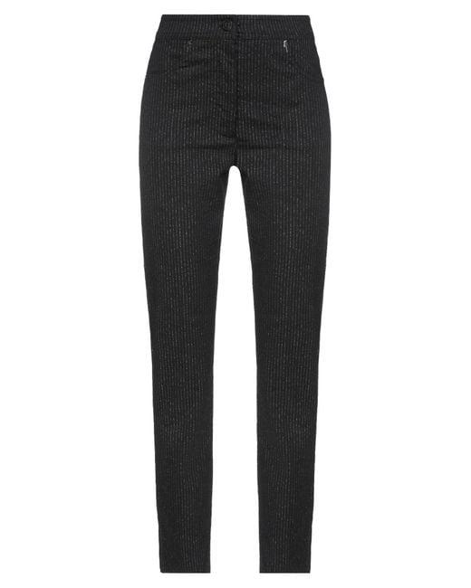 8pm Black Casual Trouser