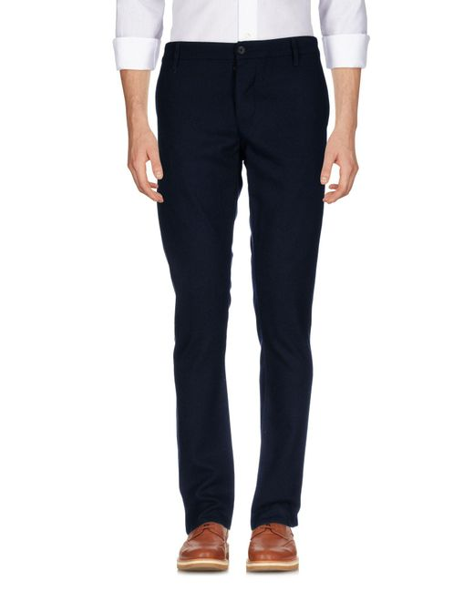 Armani Jeans - Blue Casual Trouser for Men - Lyst