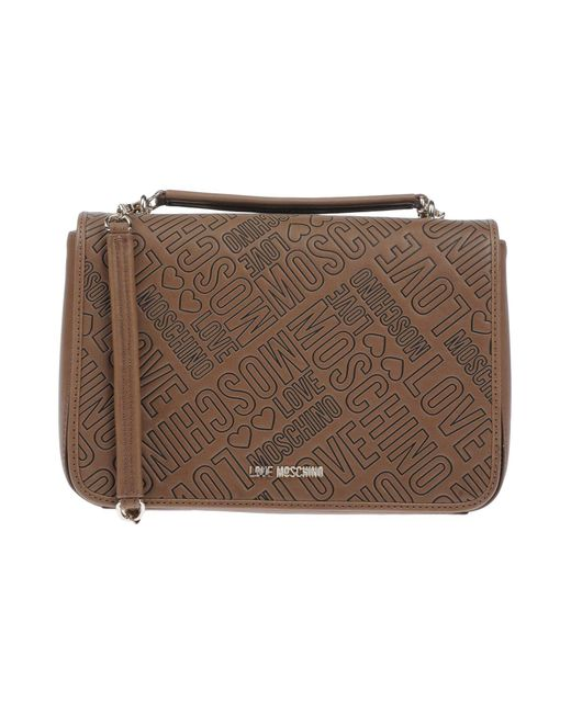 Love Moschino - Brown Handbag - Lyst