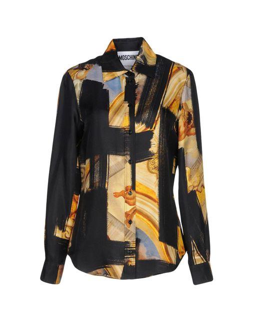 Moschino - Black Shirts - Lyst