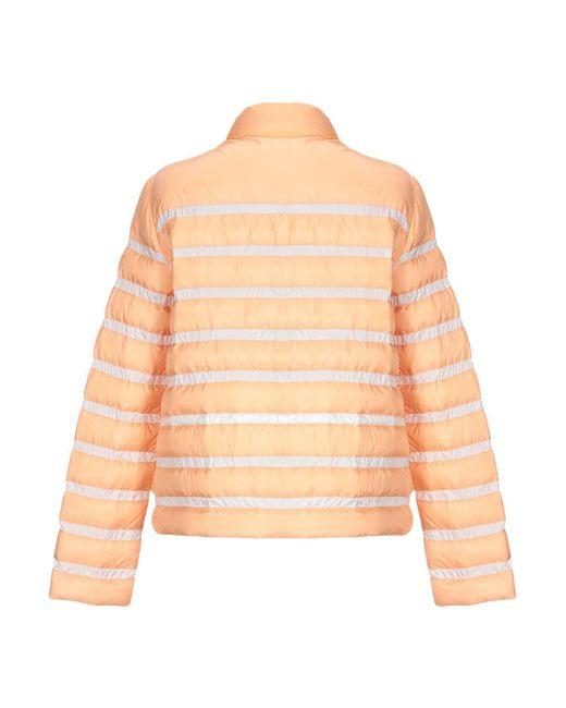 Peuterey Orange Down Jacket