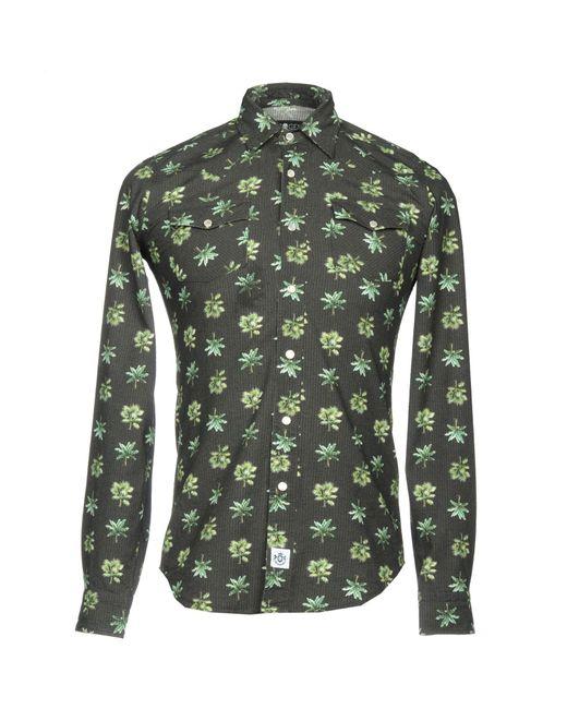 Hydrogen - Green Shirt for Men - Lyst