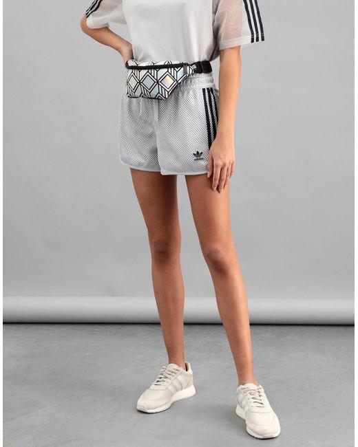 Zaini e Marsupi di Adidas Originals in Metallic