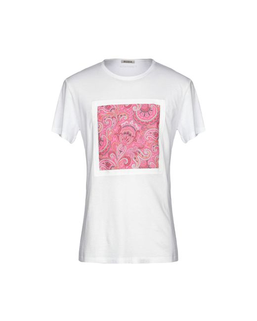 Roda White T-shirt for men