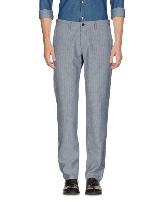 Cruna - Gray Casual Pants for Men - Lyst