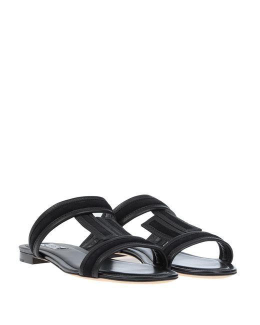 Sandales Tod's en coloris Black