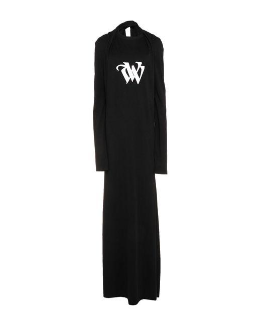 Vera Wang Black Long Dress