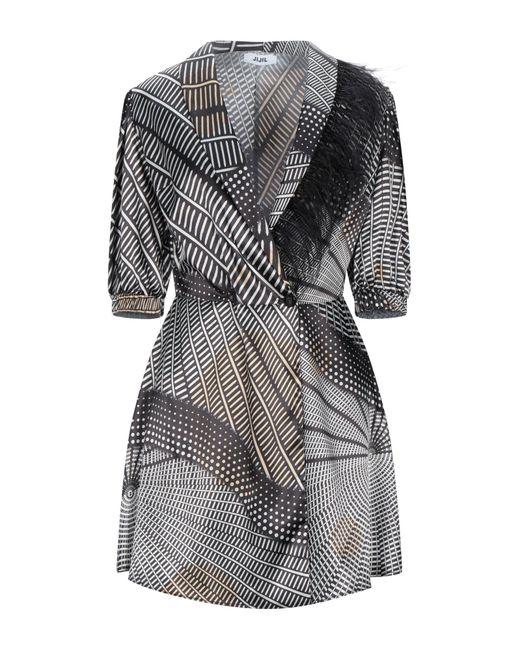 Robe courte Jijil en coloris Black