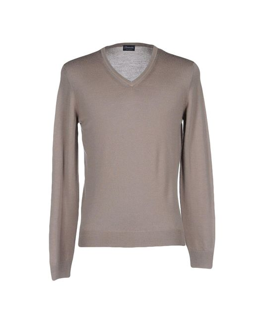 Drumohr - Gray Sweaters for Men - Lyst