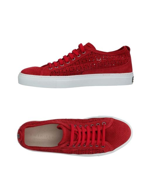 Twin Set - Red Low-tops & Sneakers - Lyst