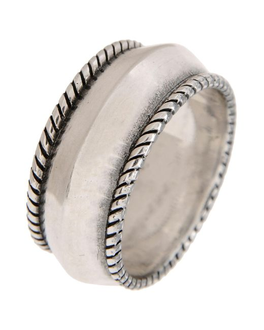First People First - Metallic Rings for Men - Lyst