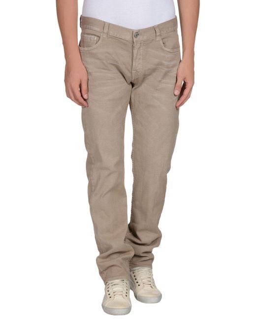 Care Label Natural Denim Pants for men
