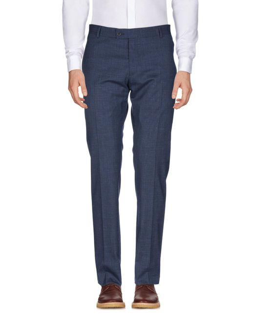 Pantalone di Tonello in Blue da Uomo