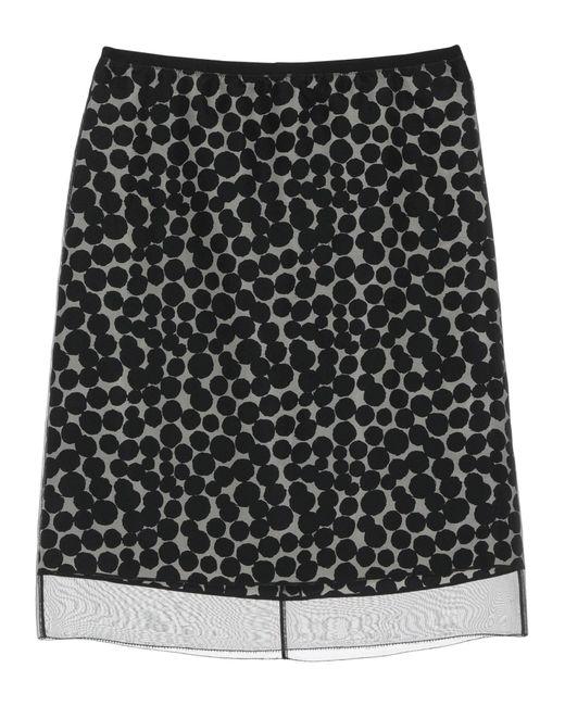 Marc Jacobs Black Knee Length Skirt