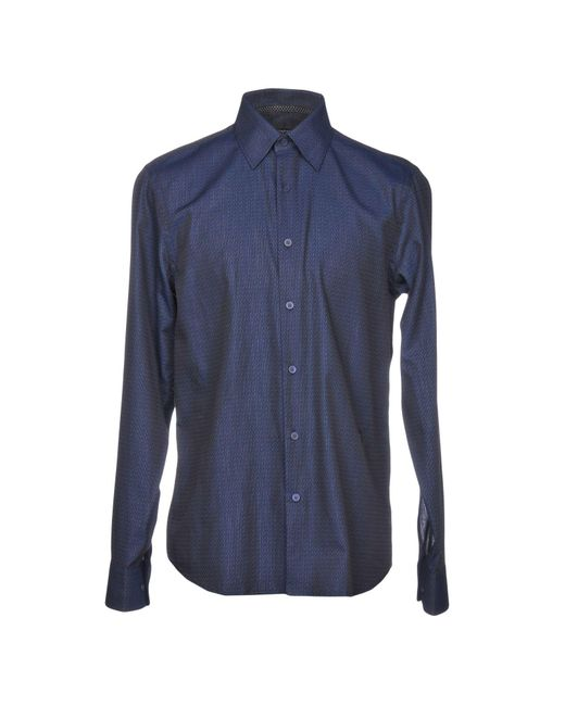 Givenchy - Blue Shirt for Men - Lyst