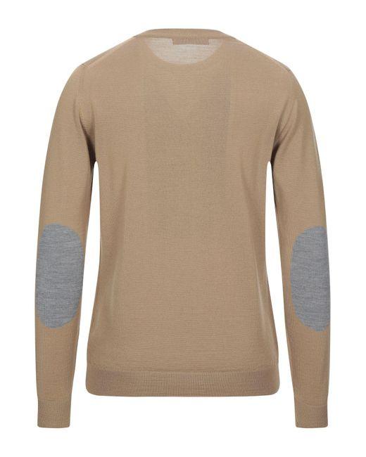 Pullover di Grey Daniele Alessandrini in Natural da Uomo