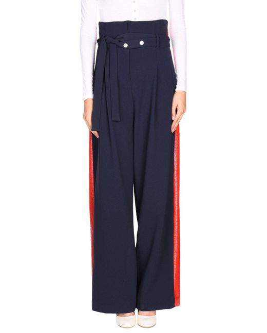 Awake Blue Casual Trouser