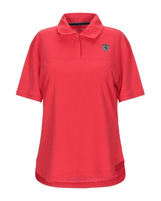 PUMA Red Poloshirt